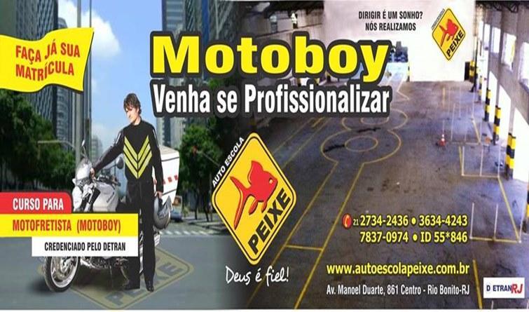 Como se tornar um MOTOBOY? Para começar, não basta apenas comprar uma moto